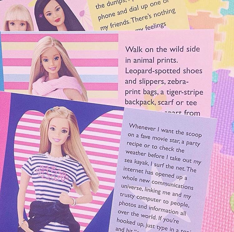 american, pop, and barbie image