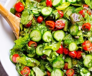 salad, delicious, and food image