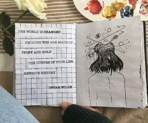 aesthetic, drawing, and indie image