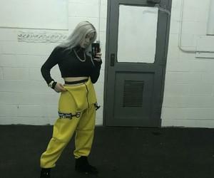 billie eilish, tumblr, and yellow image
