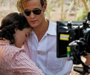 couple, matt smith, and the crown image