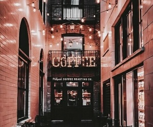 coffee, light, and autumn image
