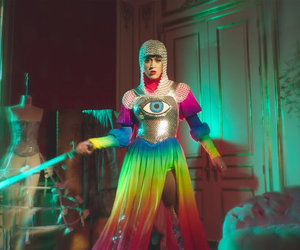 katy perry, rainbow, and witness image