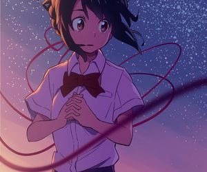 kimi no na wa and anime image