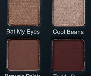 aesthetic, brown, and eyeshadow image