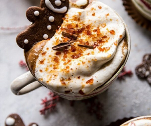 coffee, delicious, and cooki image
