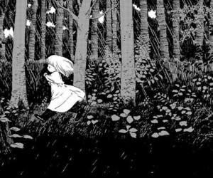 manga, monochrome, and totsukuni no shoujo image