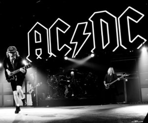 ACDC, concert, and hard rock image
