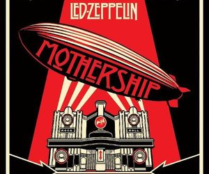 led zeppelin, music, and mothership image