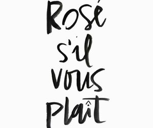 quotes, french, and rose image