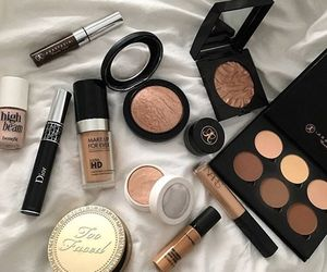 makeup, beauty, and mac image