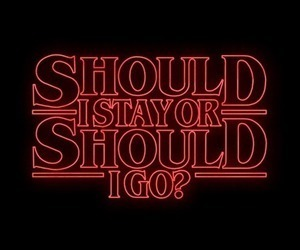 stranger things, quotes, and aesthetic image
