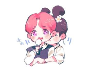 fanart, bts, and jhope image