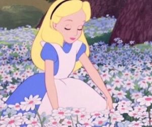 alice, cigarette, and disney image