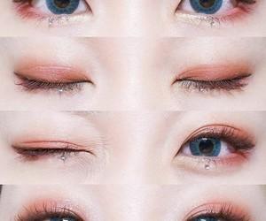 beauty, makeup, and kpop image