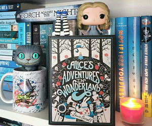 book and alice in wonderland image