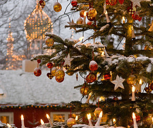 christmas, denmark, and christmas tree image
