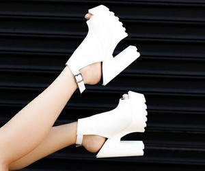 clothing, high heels, and white image