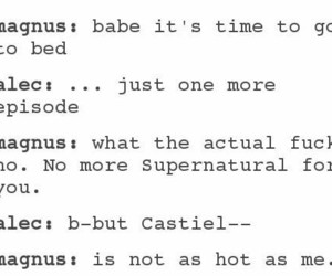 ship, supernatural, and castiel image