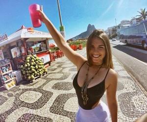 girl, rio de janeiro, and style image