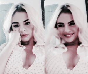 selena gomez and filtered image
