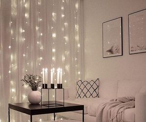 candles, lifestyle, and lights image