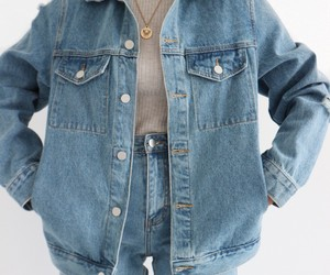 accessories, Clueless, and denim jacket image