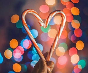 candy, christmas, and colors image