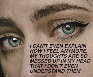 blue eyes, quote, and scream poem image