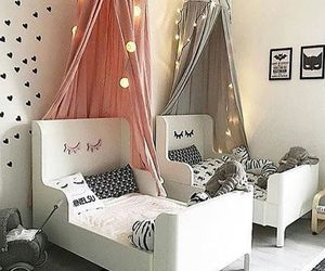 baby, bedroom, and lights image