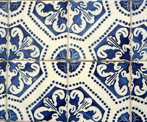 blue, patron, and tile image
