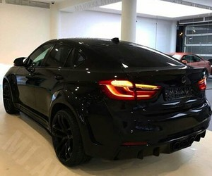 black, bmw, and style image