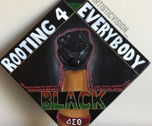 black, graduation, and blm image