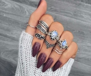 jewels and nail art image