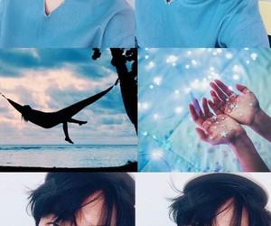blue, kpop, and suju image