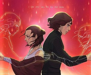 star wars, kylo ren, and reylo image