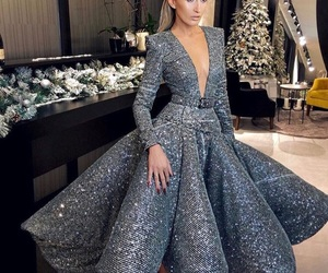 diamond, fashion week, and gown image