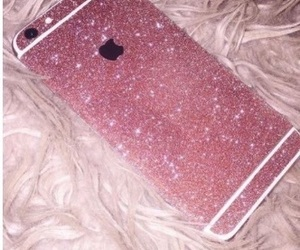 glitter, rose gold, and cute image