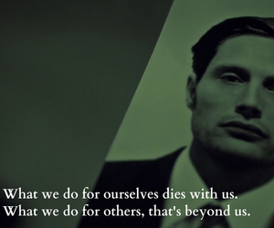 quote, hannibal lecter, and mads mikkelsen image