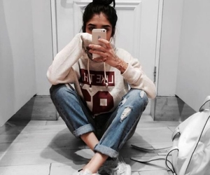 girl, mirror selfie, and ideas image