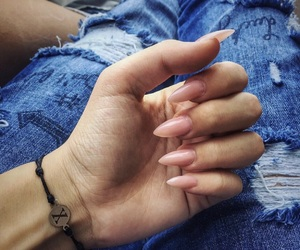 long, manicure, and nails image