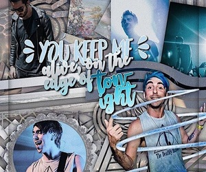 alex gaskarth, edit inspo, and all time low image