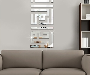 decor, living room, and silver image