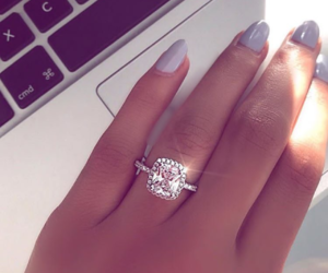 bague, jewels, and nails image