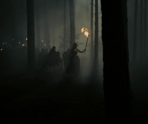 beauty and the beast, dark, and hunt image