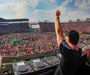 festival, music, and hardwell image