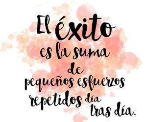 exito, frases, and esfuerzo image