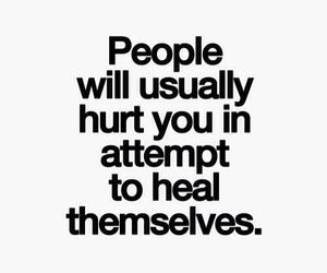 heal, quotes, and hurt image