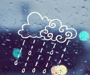 wallpaper and rain image