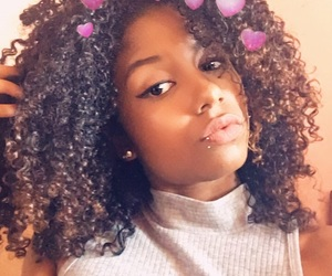 black, brazil, and curls image